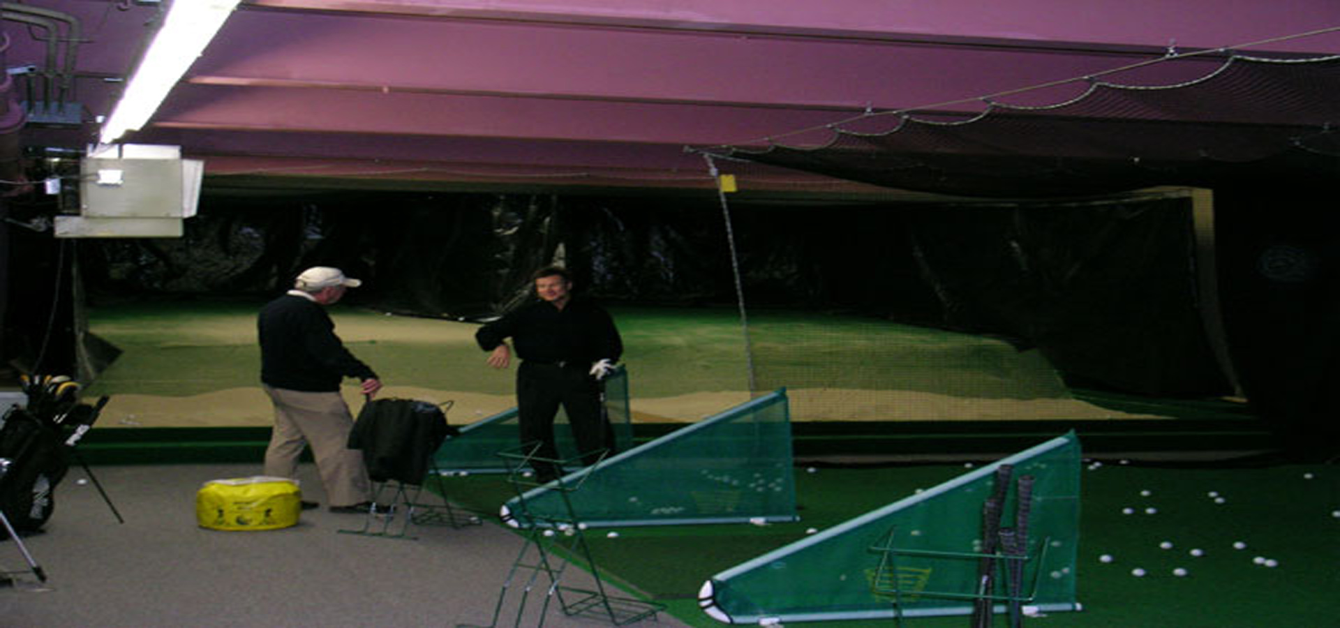 Indoor Golf Driving Range Golf Practice Golf Instruction